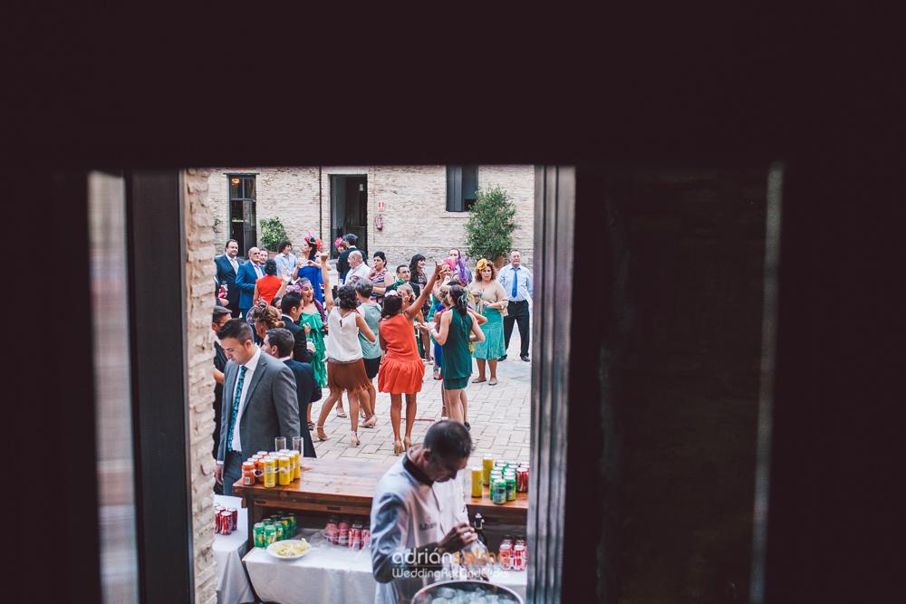 boda en castillo santiago sanlucar