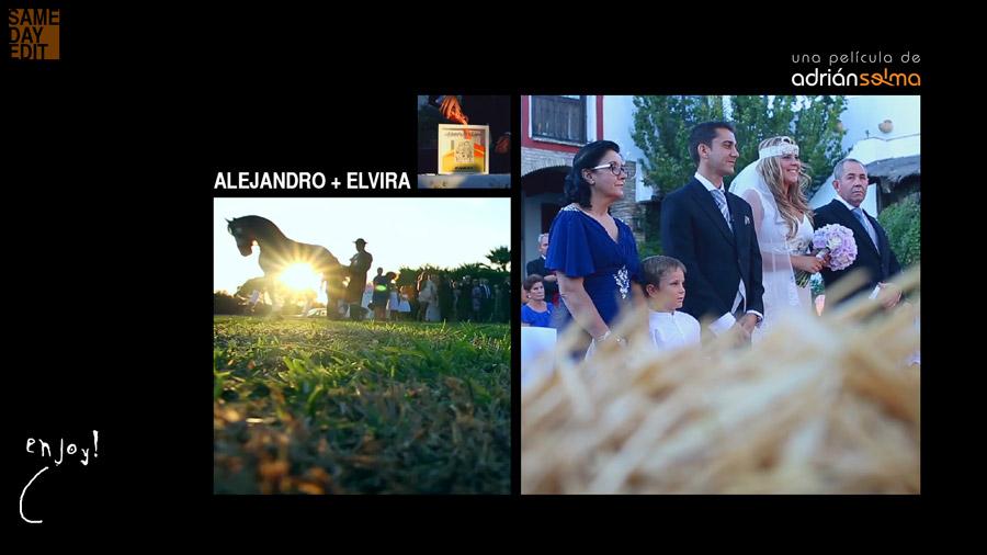video de boda en finca zamora