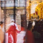 Rubén + Inmaculada. Boda en iglesia de San Lorenzo [Cádiz], castillo de Santiago [Sanlúcar de Barrameda]