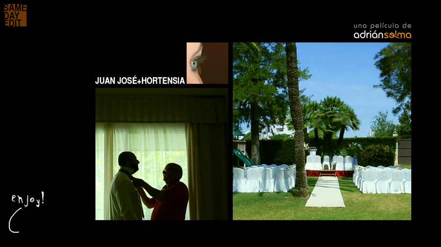 video boda en hotel jerez