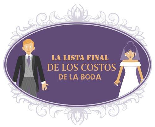 costos de una boda