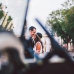 J+T. Boda en San Dionisio y bodegas Díez Mérito, Jerez