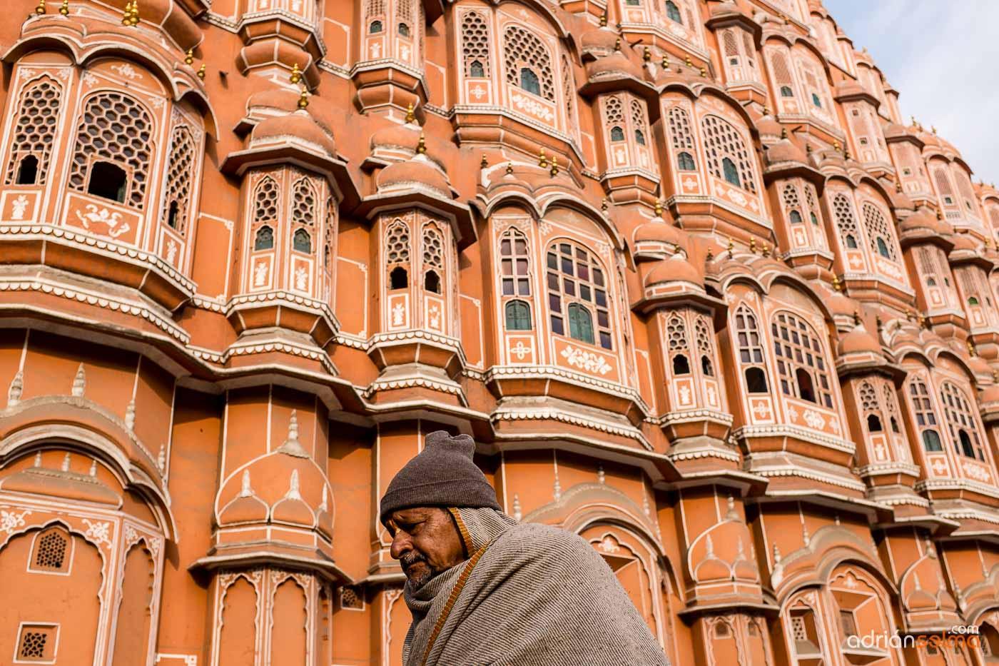 Palacio Hawa Mahal. Jaipur