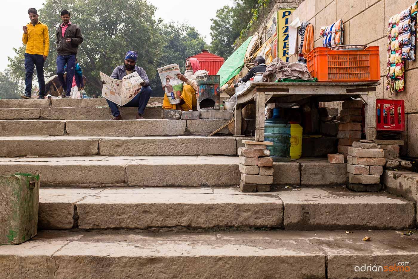 Paseando por las calles de Varanassi