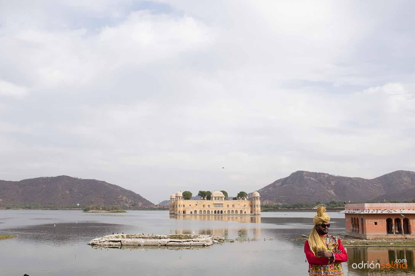 Jal Mahal, el palacio flotante de Jaipur